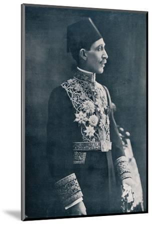 Sadek Wahba Pasha, Egyptian diplomat, c1933-Unknown-Mounted Photographic Print