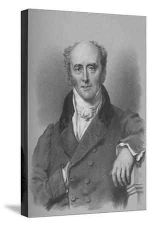 Charles, Second Earl Grey, British statesman, c1828 (1936)-Unknown-Stretched Canvas Print