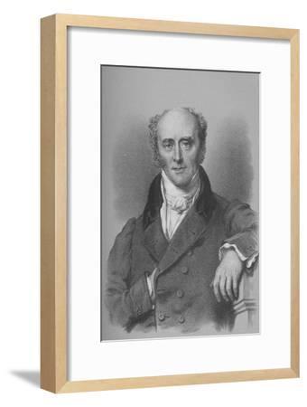 Charles, Second Earl Grey, British statesman, c1828 (1936)-Unknown-Framed Giclee Print
