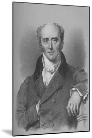 Charles, Second Earl Grey, British statesman, c1828 (1936)-Unknown-Mounted Giclee Print