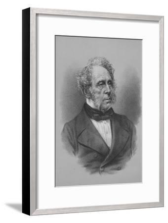Henry John Temple, 3rd Viscount Palmerston, British statesman, c1857 (1936)-Unknown-Framed Giclee Print