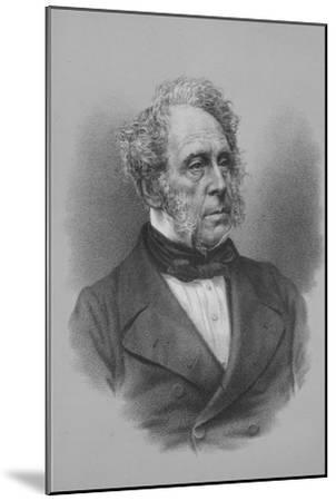 Henry John Temple, 3rd Viscount Palmerston, British statesman, c1857 (1936)-Unknown-Mounted Giclee Print