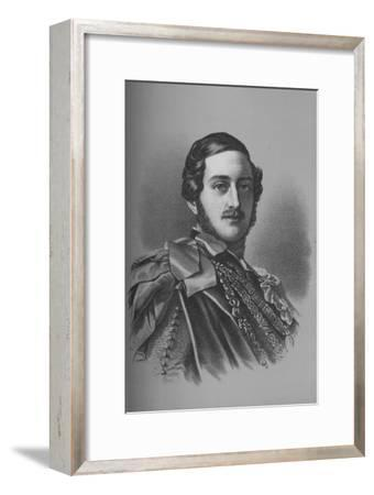 Albert, Prince Consort, c1840 (1936)-Unknown-Framed Giclee Print