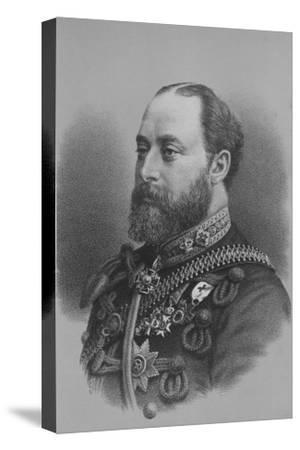 Albert Edward, Prince of Wales, c1880 (1936)-Unknown-Stretched Canvas Print