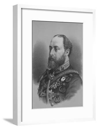 Albert Edward, Prince of Wales, c1880 (1936)-Unknown-Framed Giclee Print