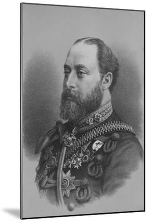 Albert Edward, Prince of Wales, c1880 (1936)-Unknown-Mounted Giclee Print