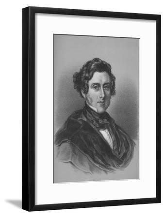 Anthony Ashley Cooper, 7th Earl of Shaftesbury, British politician, mid 19th century-Unknown-Framed Giclee Print