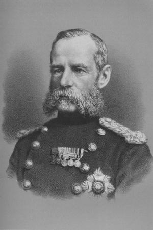 Lieutenant General Sir Frederick Roberts, British soldier, c1880 (1883)-Unknown-Framed Giclee Print