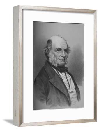 John Russell, 1st Earl Russell, British statesman, c1861 (1936)-Unknown-Framed Giclee Print