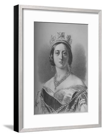 Queen Victoria, 1843 (1936)-Unknown-Framed Giclee Print