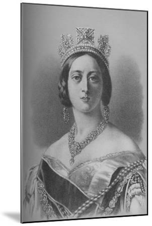 Queen Victoria, 1843 (1936)-Unknown-Mounted Giclee Print