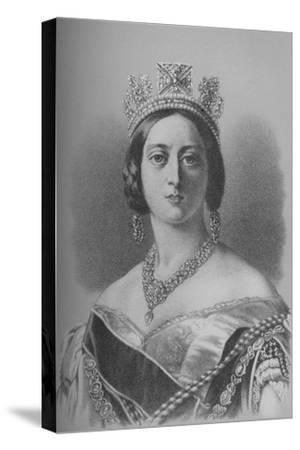 Queen Victoria, 1843 (1936)-Unknown-Stretched Canvas Print