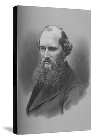 Sir William Thomson, Irish physicist and engineer, c1870s (1883)-Unknown-Stretched Canvas Print
