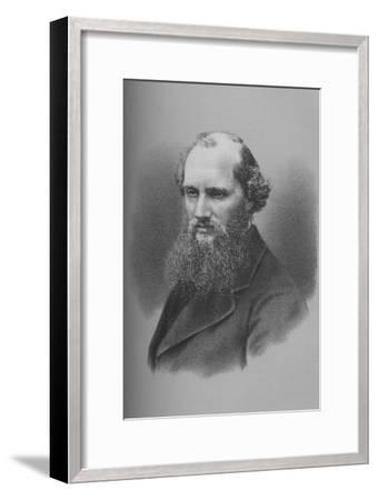 Sir William Thomson, Irish physicist and engineer, c1870s (1883)-Unknown-Framed Giclee Print