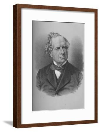 Granville George Leveson-Gower, 2nd Earl Granville, British politician, c1870s-Unknown-Framed Giclee Print