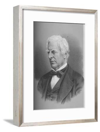 Robert Lowe, Viscount Sherbrooke, British politician, 1873 (1883)-Unknown-Framed Giclee Print