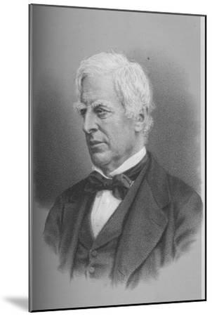Robert Lowe, Viscount Sherbrooke, British politician, 1873 (1883)-Unknown-Mounted Giclee Print