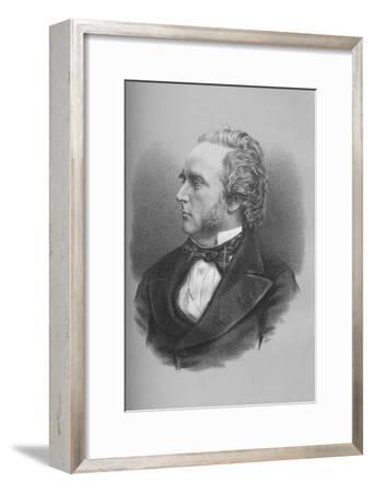 George Douglas Campbell, 8th Duke of Argyll, Scottish politician and writer, c1870s-Unknown-Framed Giclee Print