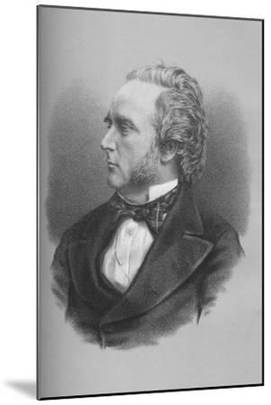 George Douglas Campbell, 8th Duke of Argyll, Scottish politician and writer, c1870s-Unknown-Mounted Giclee Print