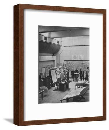 RAF Bomber Command operations room, 1941-Unknown-Framed Photographic Print