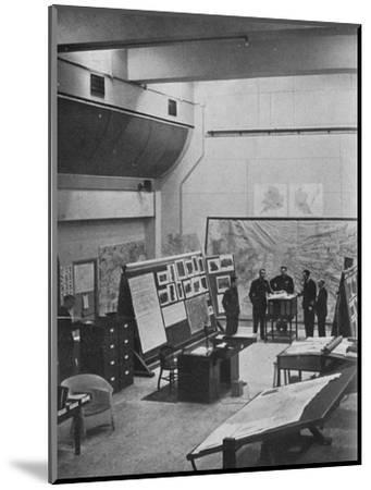 RAF Bomber Command operations room, 1941-Unknown-Mounted Photographic Print