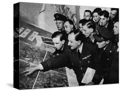 'The target to-night is...', 1941-Unknown-Stretched Canvas Print
