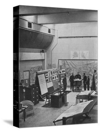RAF Bomber Command operations room, 1941-Unknown-Stretched Canvas Print