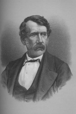 David Livingstone, Scottish missionary and African explorer, 1860s (1883)-Unknown-Framed Giclee Print