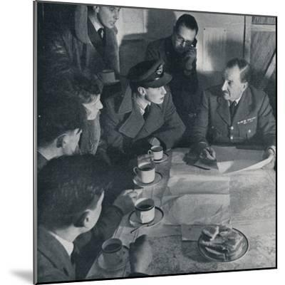 'The raid is over, but the crew's task is not yet finished', 1941-Unknown-Mounted Photographic Print