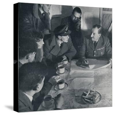 'The raid is over, but the crew's task is not yet finished', 1941-Unknown-Stretched Canvas Print
