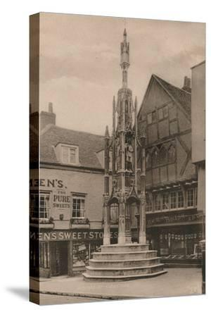 The Buttercross, Winchester, Hampshire, early 20th century(?)-Unknown-Stretched Canvas Print