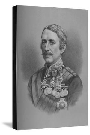 Lieutenant-General Sir Garnet Joseph Wolseley, British soldier, 1882 (1883)-Unknown-Stretched Canvas Print