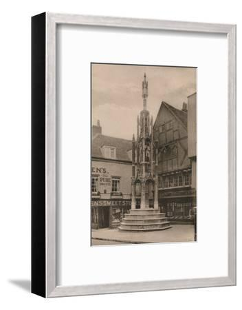 The Buttercross, Winchester, Hampshire, early 20th century(?)-Unknown-Framed Photographic Print