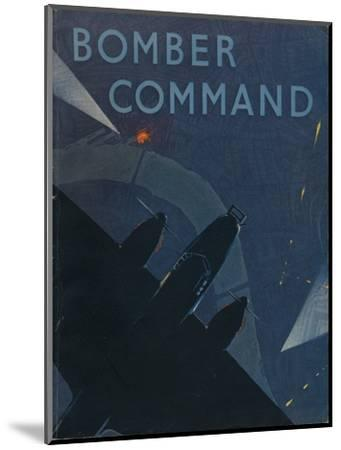 Front page of Bomber Command, 1941-Unknown-Mounted Giclee Print