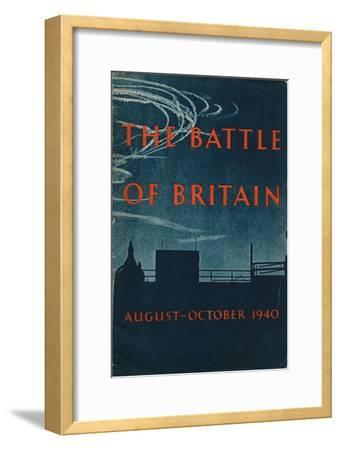 Front page of The Battle of Britain, 1943-Unknown-Framed Giclee Print