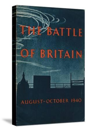 Front page of The Battle of Britain, 1943-Unknown-Stretched Canvas Print