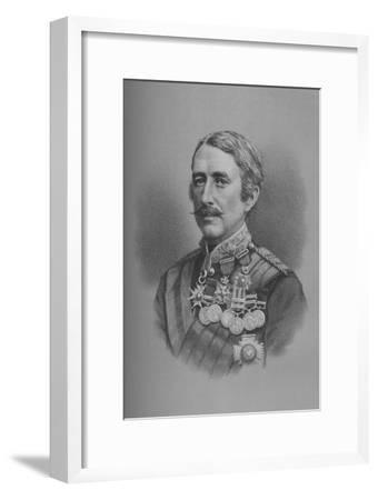 Lieutenant-General Sir Garnet Joseph Wolseley, British soldier, 1882 (1883)-Unknown-Framed Giclee Print