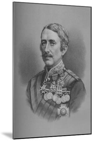 Lieutenant-General Sir Garnet Joseph Wolseley, British soldier, 1882 (1883)-Unknown-Mounted Giclee Print