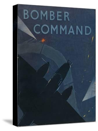 Front page of Bomber Command, 1941-Unknown-Stretched Canvas Print