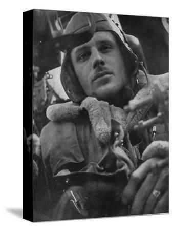 Bomber Command pilot, 1941-Unknown-Stretched Canvas Print