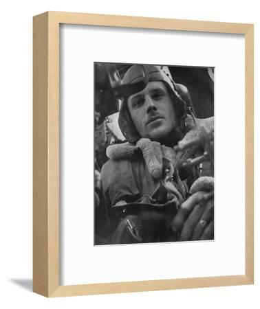 Bomber Command pilot, 1941-Unknown-Framed Photographic Print