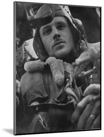 Bomber Command pilot, 1941-Unknown-Mounted Photographic Print