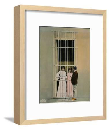 A Cuban courtship, c1920-Unknown-Framed Photographic Print