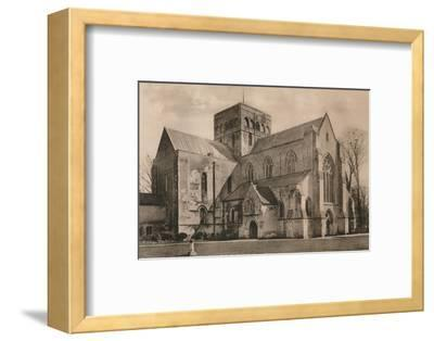 Church of the Hospital of St Cross, Winchester, Hampshire, early 20th century(?)-Unknown-Framed Photographic Print