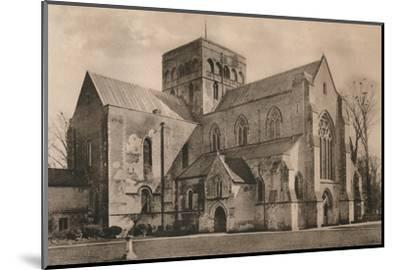 Church of the Hospital of St Cross, Winchester, Hampshire, early 20th century(?)-Unknown-Mounted Photographic Print