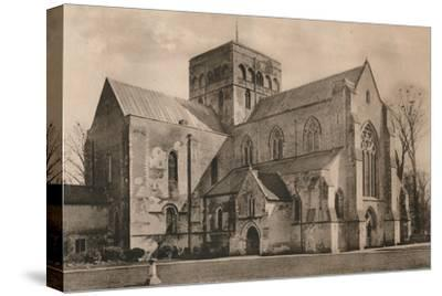 Church of the Hospital of St Cross, Winchester, Hampshire, early 20th century(?)-Unknown-Stretched Canvas Print
