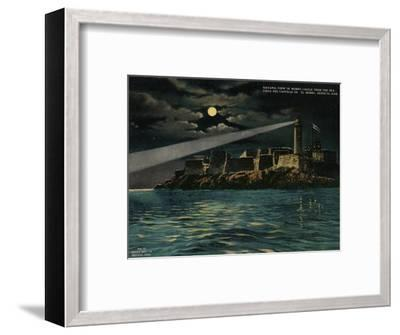 View of Morro Castle from the sea, Havana, Cuba, c1920-Unknown-Framed Giclee Print