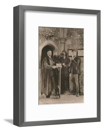 The Wayfarer's Dole, Hospital of St Cross, Winchester, Hampshire, early 20th century-Unknown-Framed Photographic Print