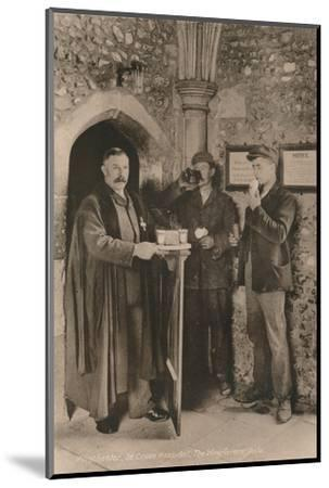 The Wayfarer's Dole, Hospital of St Cross, Winchester, Hampshire, early 20th century-Unknown-Mounted Photographic Print