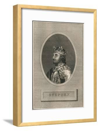 King Stephen, 1793-Unknown-Framed Giclee Print